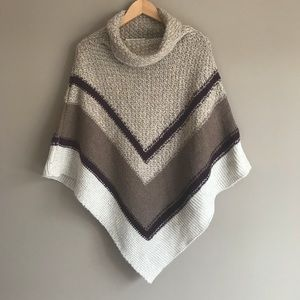 OLD NAVY Cozy Cowl Neck Poncho Sweater